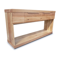 Elwood Tasmanian Oak Wooden Console Hall Table 1.5m