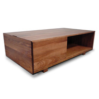 Manhattan Blackwood Coffee Table with 1 Drawer 1.3m