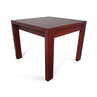 Lumino Australian Jarrah Timber Lamp Side Table