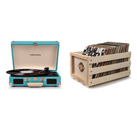 Crosley Cruiser Portable Record Turntable Turquoise