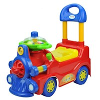 Kids Push and Pull Locomotive Ride On Car in Red
