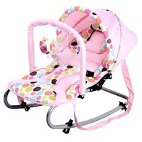 Harmony New Born Baby Rocker with Canopy in Pink