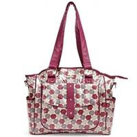 Bellotte Luxury Baby Nappy Bag Tote in Autumn Rose