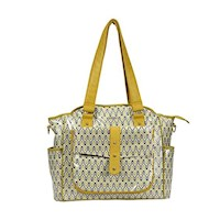 Bellotte Luxury Tote Baby Nappy Bag Autumn Yellow