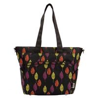 Bellotte Tote Diaper Baby Nappy Bag Autumn Leaves