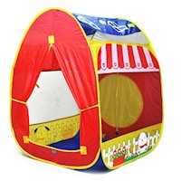 Kids Hideaway Play Tent w/ Mesh Windows Multicolour