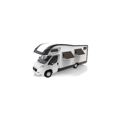 Remote Electric Caravan RV Window Awning in Grey 2m