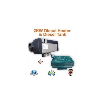 Planar RV Carvan Diesel Air Heater w/ Tank 2kW