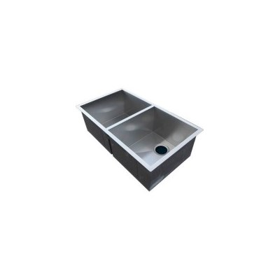Stainless Steel Double Kitchen Sink 820x457mm