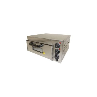 Single Deck Stone Base Electric Pizza Oven 2.0kW