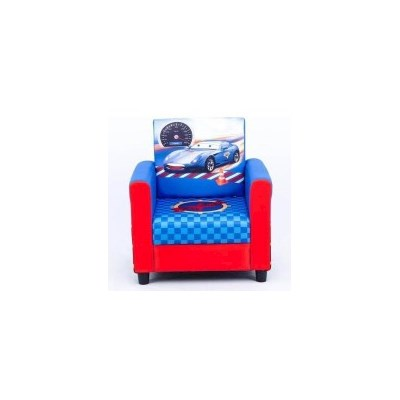 Kids Cars Inspired Medium Sofa in Blue and Red