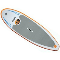 Hula 8 Inflatable Stand Up Paddle Board SUP - White