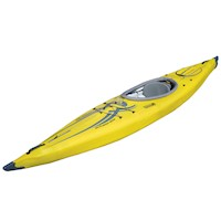 AirFusion Elite Inflatable Kayak with Bag in Yellow
