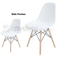 Kids Replica Eames DSW Dining Chair in Snow White