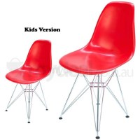 Kids Replica Eames DSR Dining Chair in Bright Red