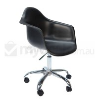 Eames Inspired DAW/DAR Office Chair Midnight Black