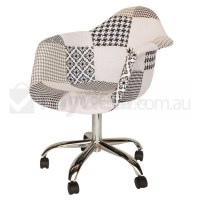 Eames Inspired DAW/DAR Office Chair - Patches Ver 3