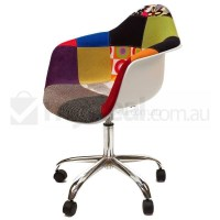 Eames Inspired DAW/DAR Office Chair - Patches Ver 1