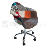 Eames Inspired DAW/DAR Office Chair - Patches Ver 2