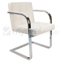 Replica Mies Van De Rohe Barcelona Chair in White
