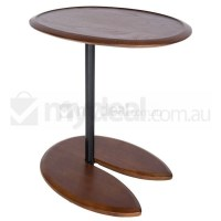 Replica Eileen Gray Side Table Night Stand - Walnut