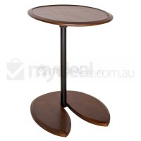 Replica Eileen Gray Adjustable Side Table in Walnut