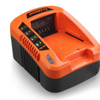 Redback Wall Mountable Battery Charger in Orange 2A