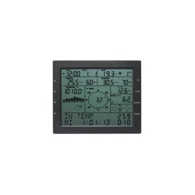 Wireless Solar Powered Weather Station with PC Link